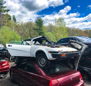 Triumph TR7 Holland's Auto Parts, Billerica, MA