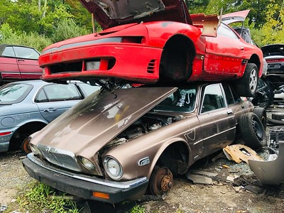 Mitsubishi 3000GT and Jaguar XJ6 Holland's Auto Parts, Billerica, MA