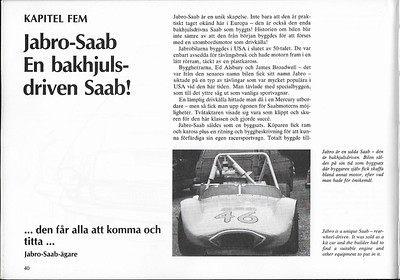 Scanned from Alla SAABs Sportbilar, The Sonett, and All Other SAAB Sports Cars by Björn Svallner