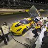 Bonus photo # 4 - 2019 IMSA - C7 R-006 night pit stop at Daytona 24