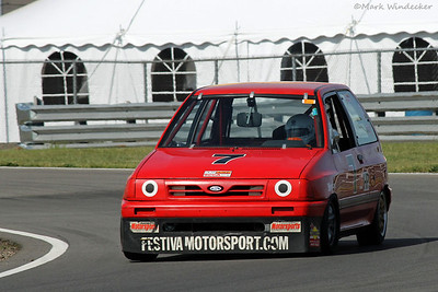 22nd 3-HP Tim DeRonne Ford Festiva