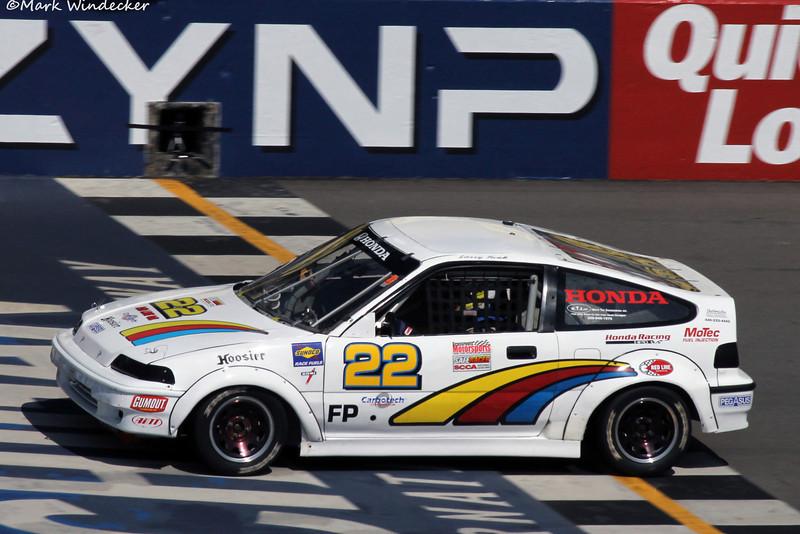 28th DNF-FP Larry Funk Honda Civic si