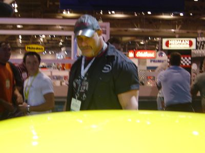 Wresler, GOLDBERG at SEMA
