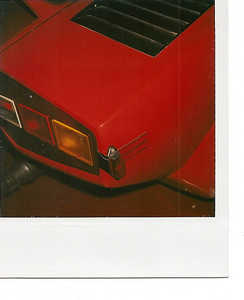 Lamborghini Countach chassis no. 112 0007. DOT required rear tail light and reflector.