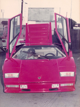 Lamborghini Countact. Either Wilt Chamberlain or Rod Stewart. We were involved in about 10 Countach and a couple of Miura.. Chassis 112 0262 1977  Chassis 112 0007 Chassis ZA9C00CLA 12488 5000S