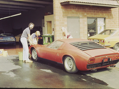 Lamborghini Miura S purchased Milano from Guidetti.