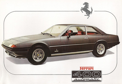 From Ferrari brochure booklet with all of the models approx. 1980