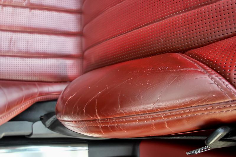 SL63 Seats Before & After Hi-Res
