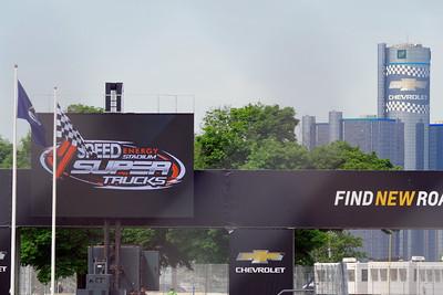2017 Detroit Stadium Super Truck