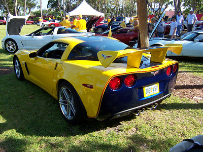 """While most will consider this Z06 having a """"rice"""" look it was very professionally done. Paint work was outstanding!"""