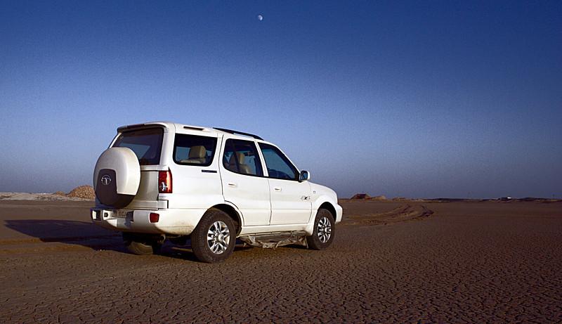 A slat flat near Phalodi, Rajasthan