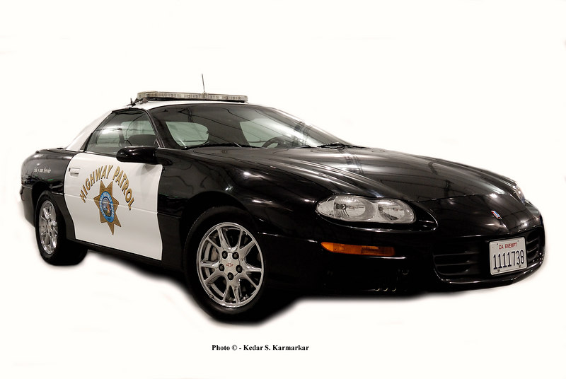 Our very own, California's Finest - California Highway Patrol Chevrolet Camaro