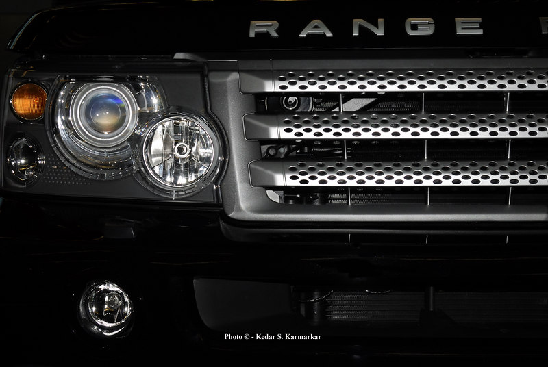 Close-Up of the Range Rover SUV