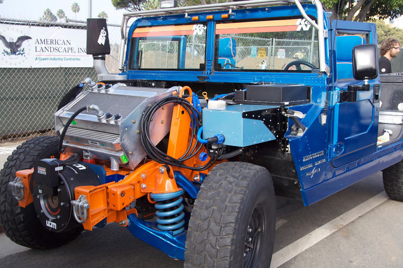 Bio-diesel Hummer Hybrid