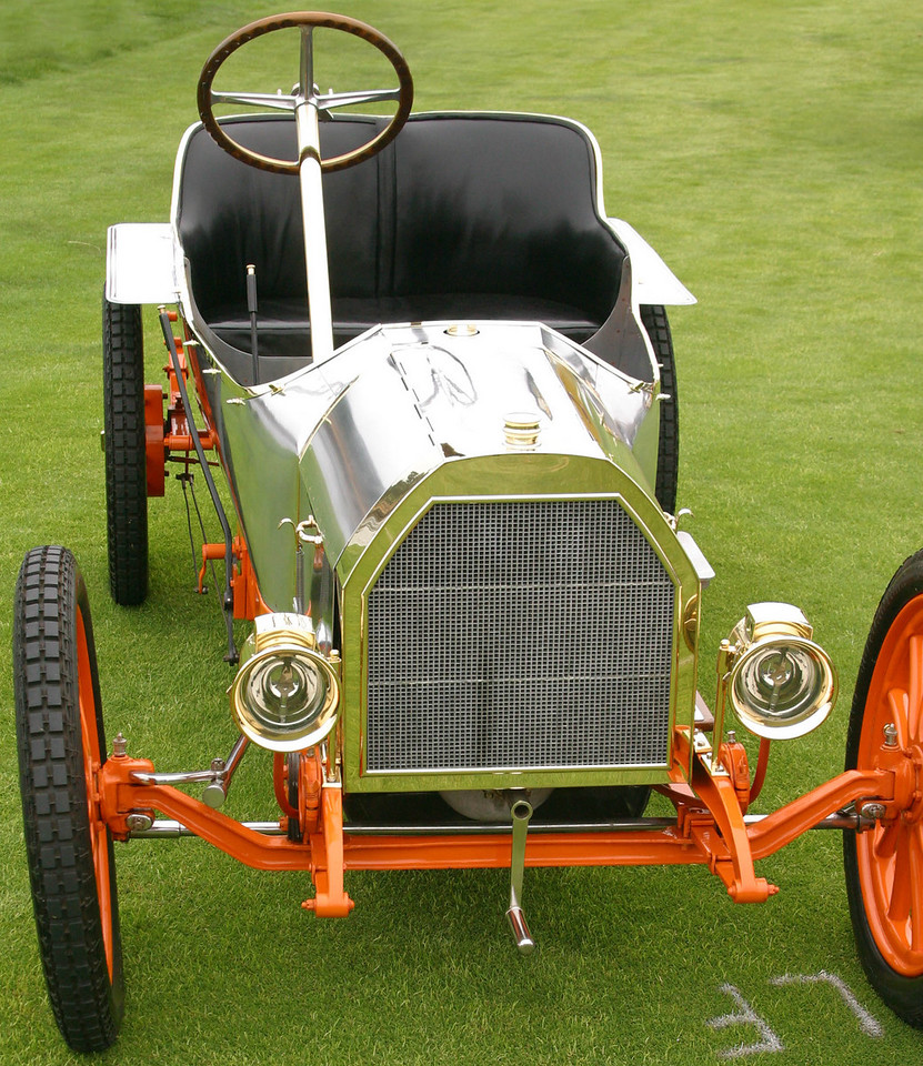 The very first Bugatti, a 1908 Type 10 Runabout