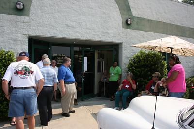 Senior Center Visit in Hillsborough - 06/27/2008