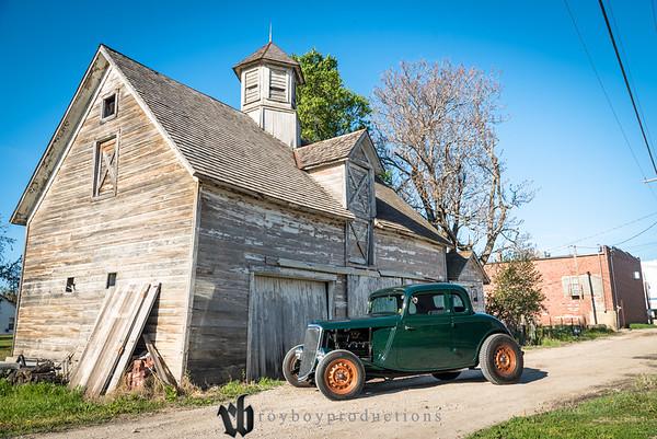 Pete Weber's 1934 Ford by Big Creek Restoration