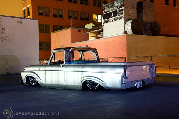 Ryno Built 1961 Ford Unibody Pickup