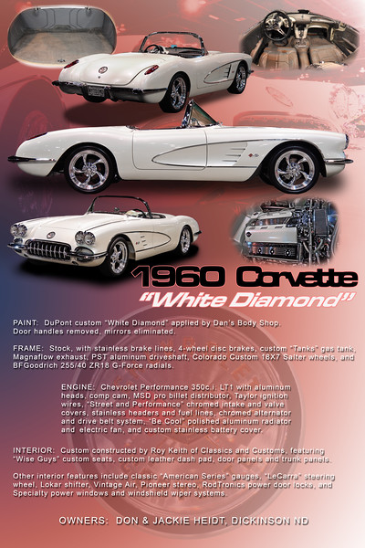 1960 White Diamond Corvette