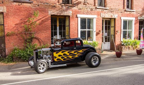 Sierra City CA. Car Show