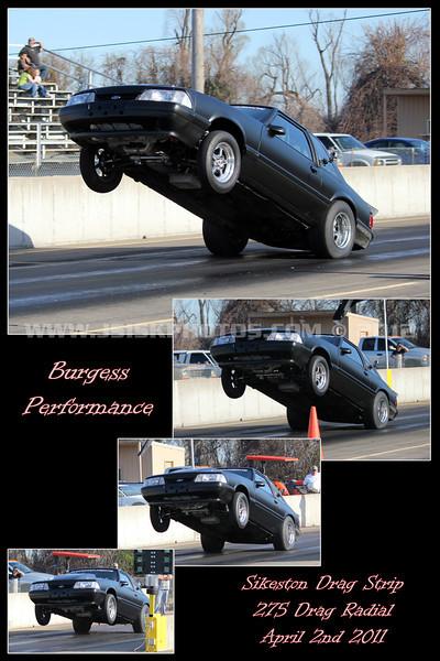 Burgess collage