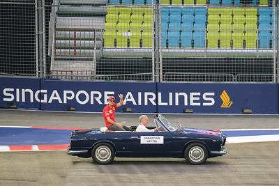 Singapore F1 2019 Drivers' Parade
