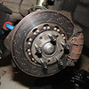 Barely used Performance Friction rotors.