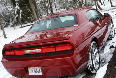 Challenger in the Snow