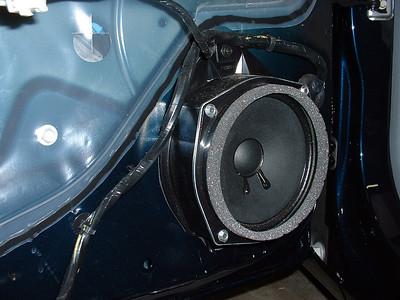 Base-model door speaker