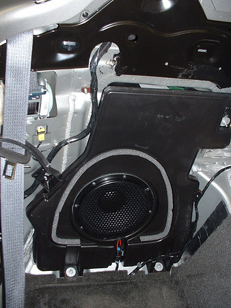 Factory subwoofer (in a friend's Monsoon-equipped Solstice)