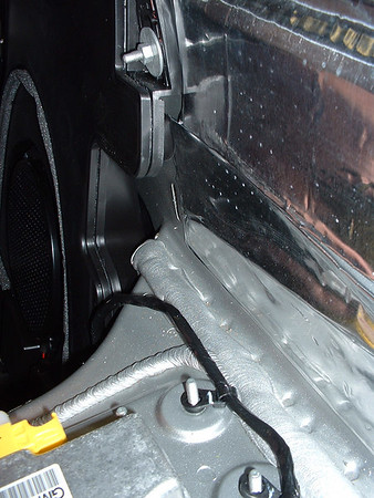 Factory subwoofer (not my car, but one I was doing some work on)