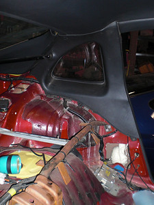 before removing the B-pillar interior covers and the headliner.