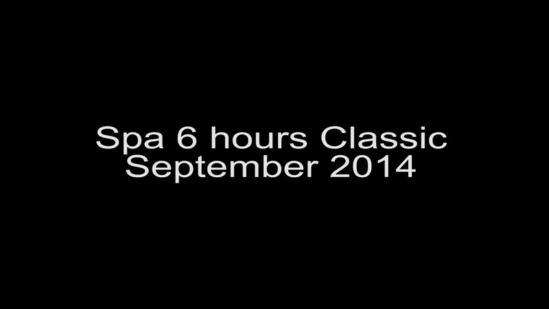 Spa 6 Hours Classic Sept 2014