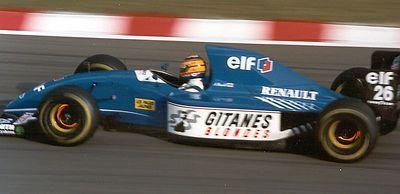 Mark Blundell in the Ligier