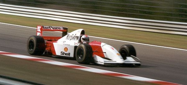 Michael Andretti, McLaren driver for one year