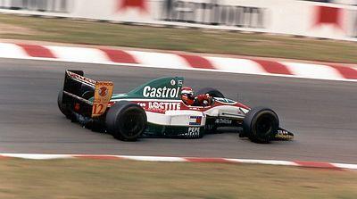 Johnny Herbert in the Lotus