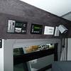 Solar, inverter/charger & carbon monoxide detector.
