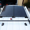 Solar panels & Thule rack system.