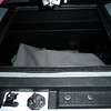 Storage box can be used as an ice chest for tailgate parties.