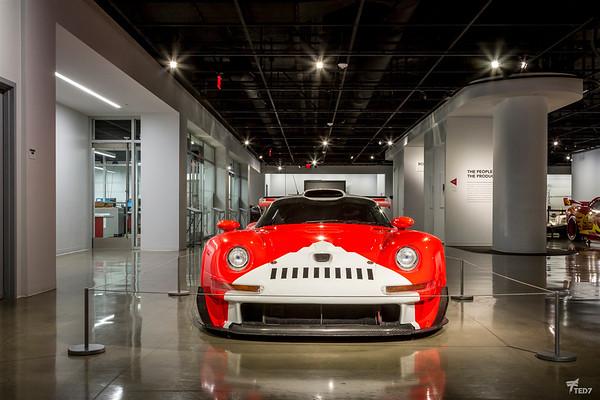 Porsche 993 GT1 @Petersen