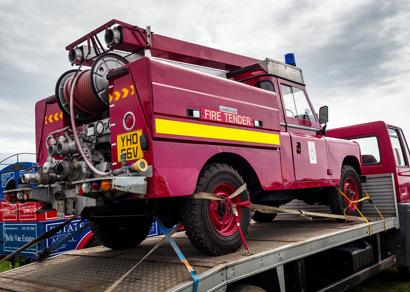 1980 Land Rover Fire Tender