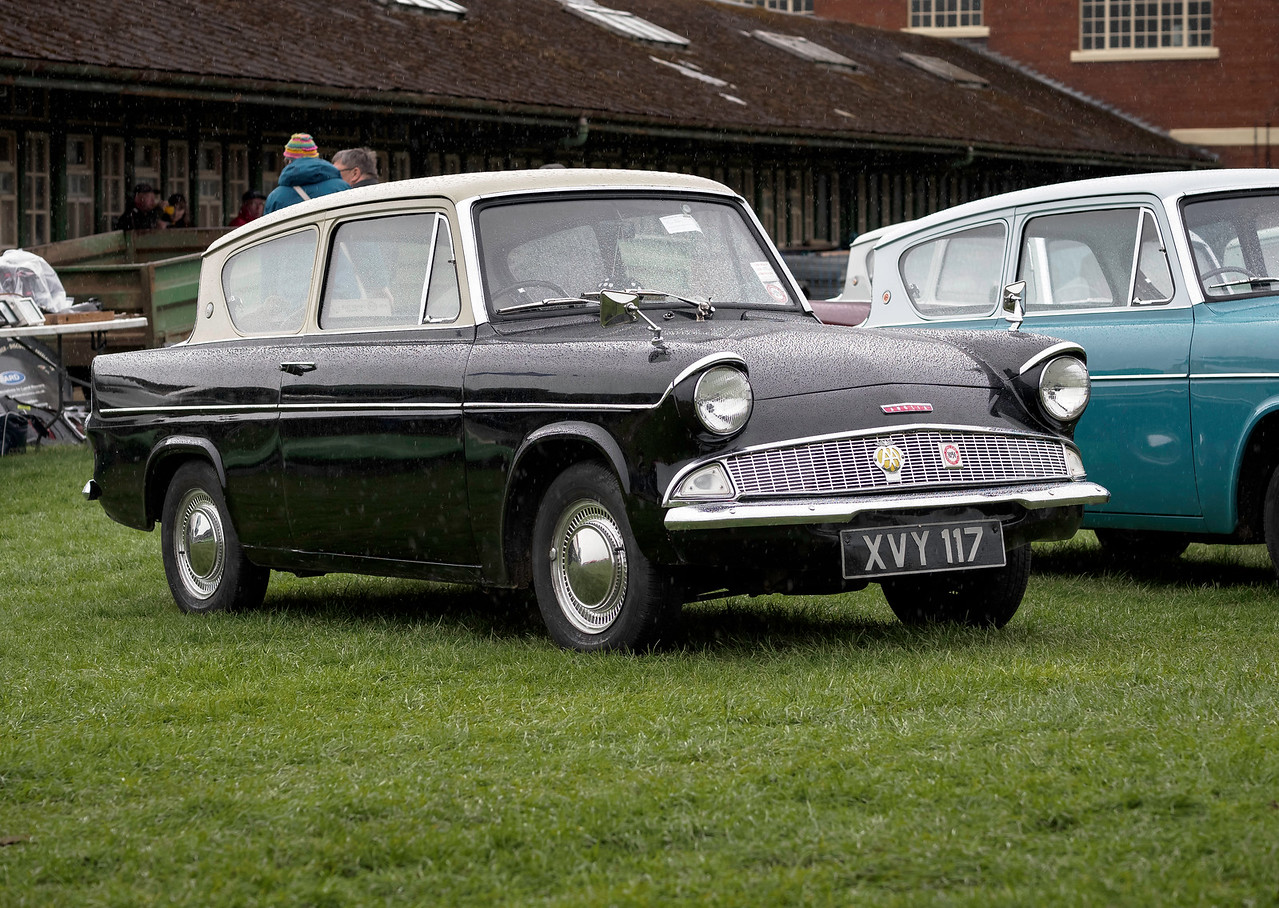 1961 Ford Anglia Deluxe