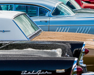 Group including 1958 Buick Limited Riviera Four-Door Hardtop