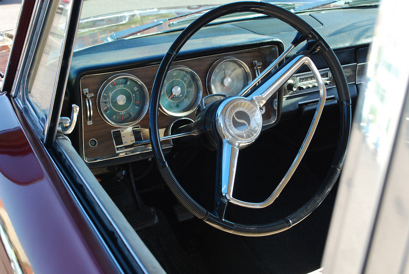 66 Daytona interior