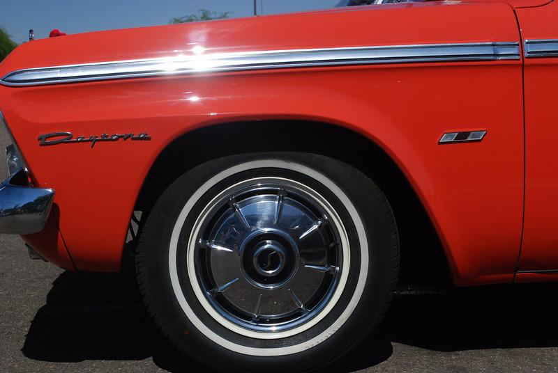 65 Daytona ft fender & wheel