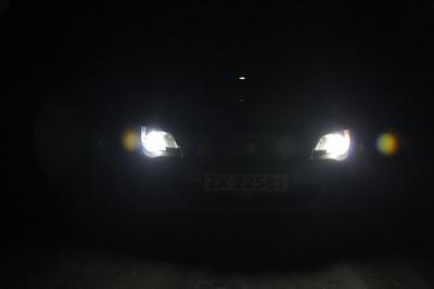 Subaru Legacy LED upgrade