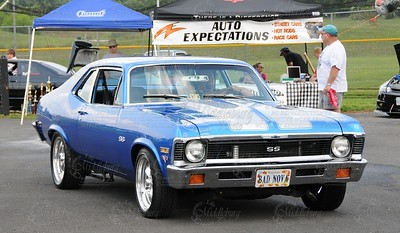 """""""Bad Nova"""" Chris's 1972 Chevy Nova-468cid """"Bull Run Street Rods"""""""