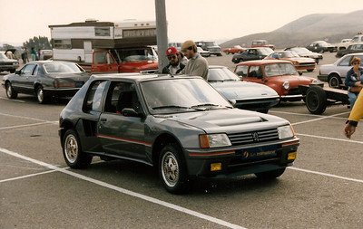 Lion Country Solo II Larry Volum's Peugeot 205 Turbo 16.