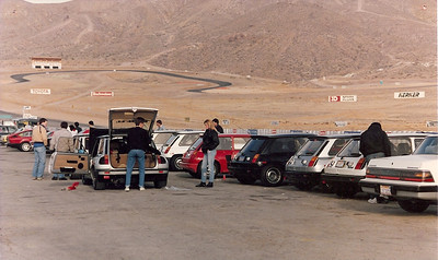 R5 Turbo at Willow Springs, California