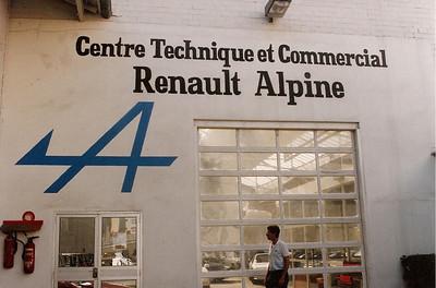 Alpine Centre paris environs 1985